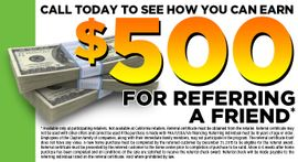 Referrals pay off!! make an easy buck and tell a friend about Clayton Homes!