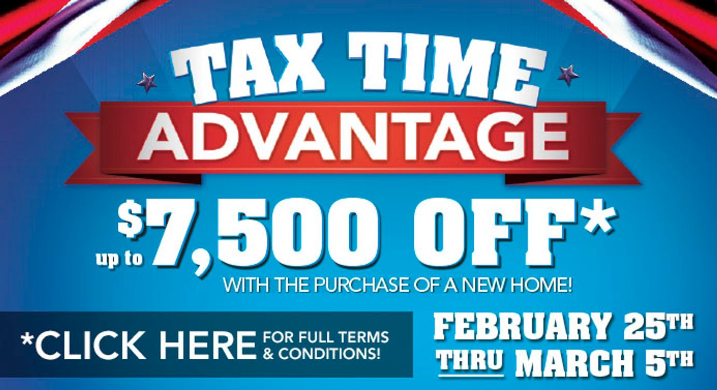 Its Tax Time Advantage Time!