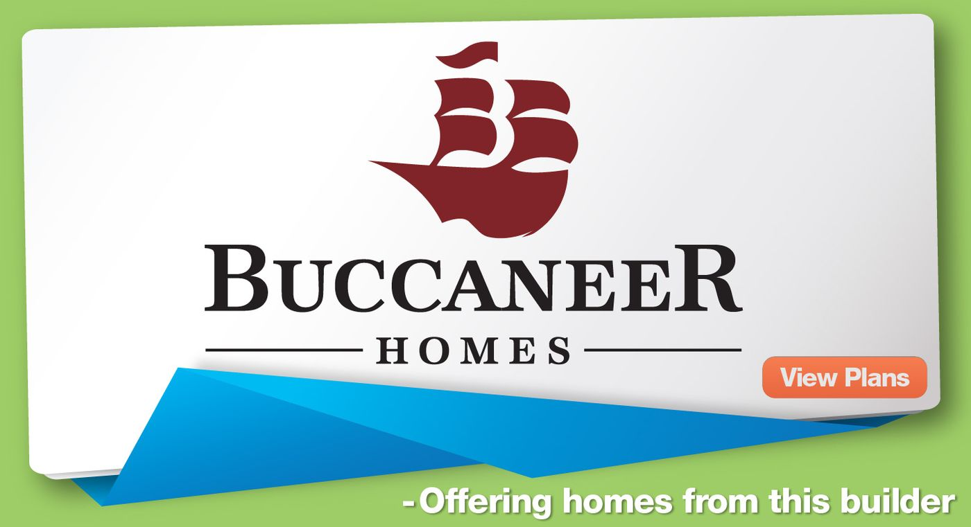 We offer homes bult by Buccaneer