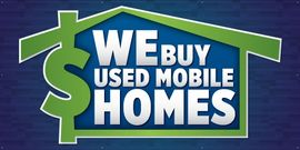 WE BUY USED MOBILE HOMES!!!!