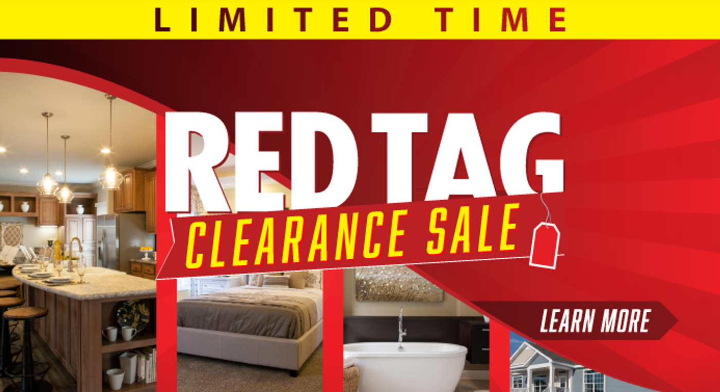 Red Tag Clearance Sale Going On NOW