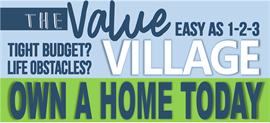 "Stop by and check out our ""Value Priced"" Homes"