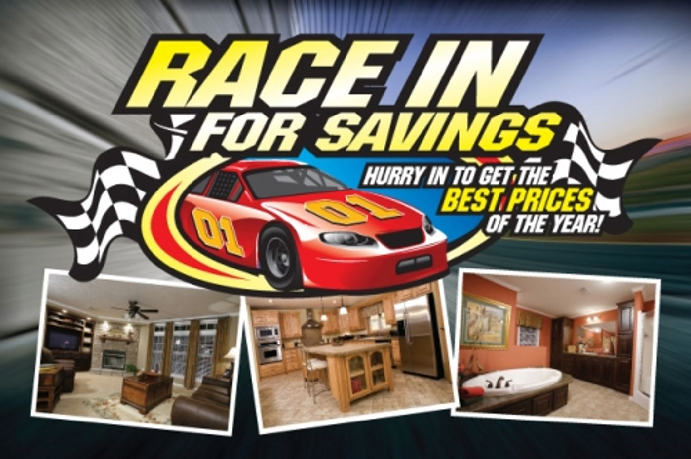 Race in for Savings