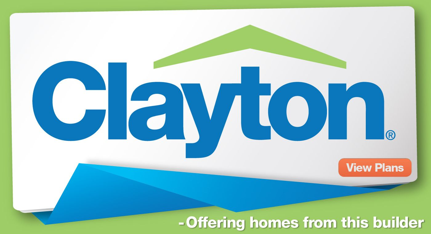 We offer homes built by Clayotn