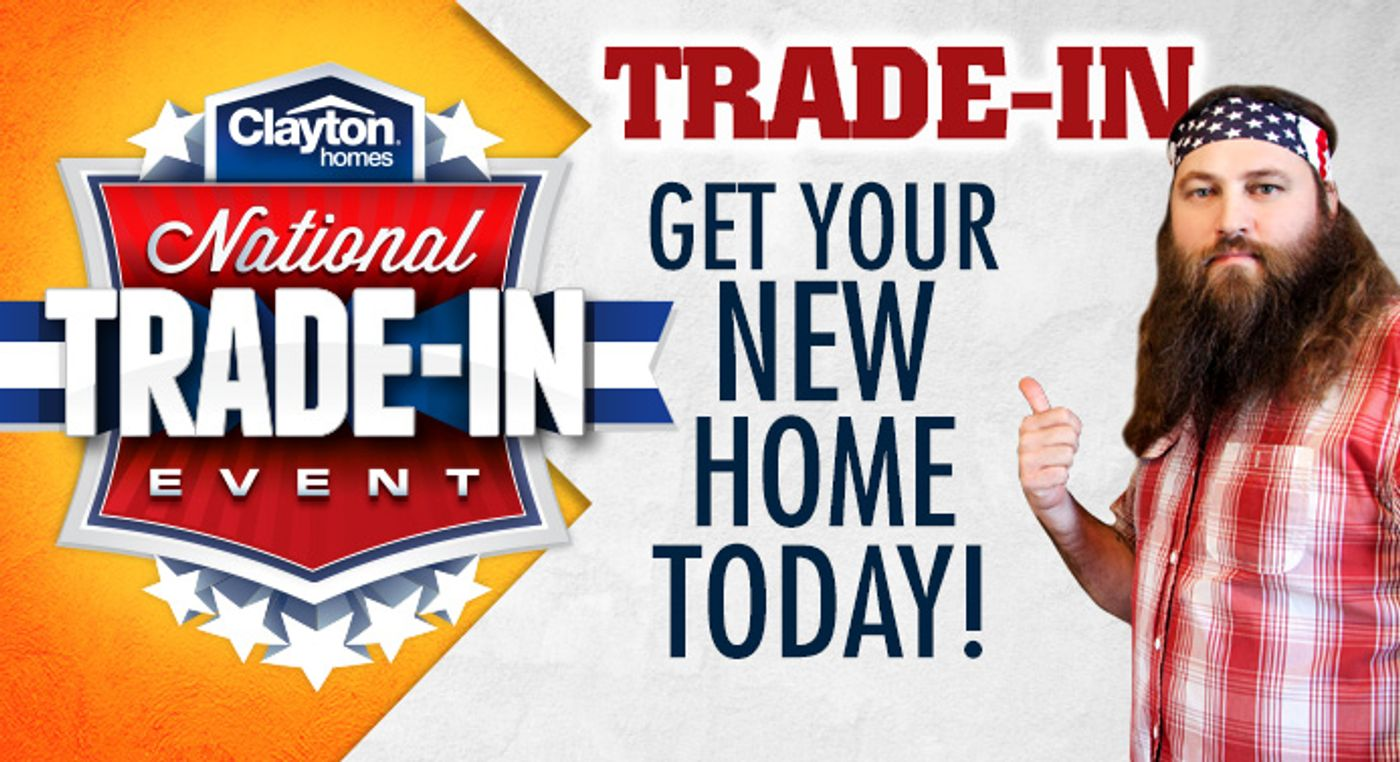 Clayton National Trade In Event Graphic