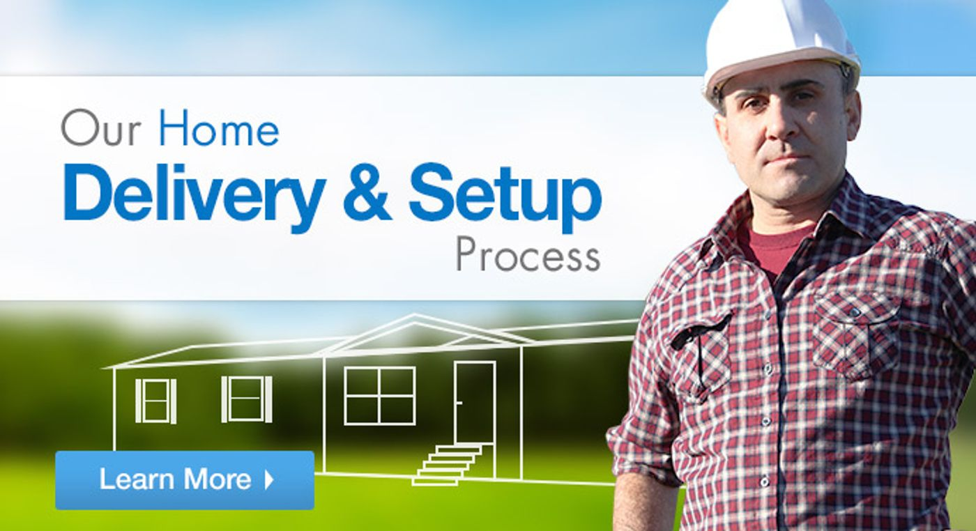 Learn more about our Delivery and Setup Process