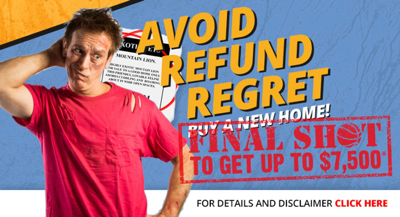 Clayton Homes wants to help you Avoid Refund Regret