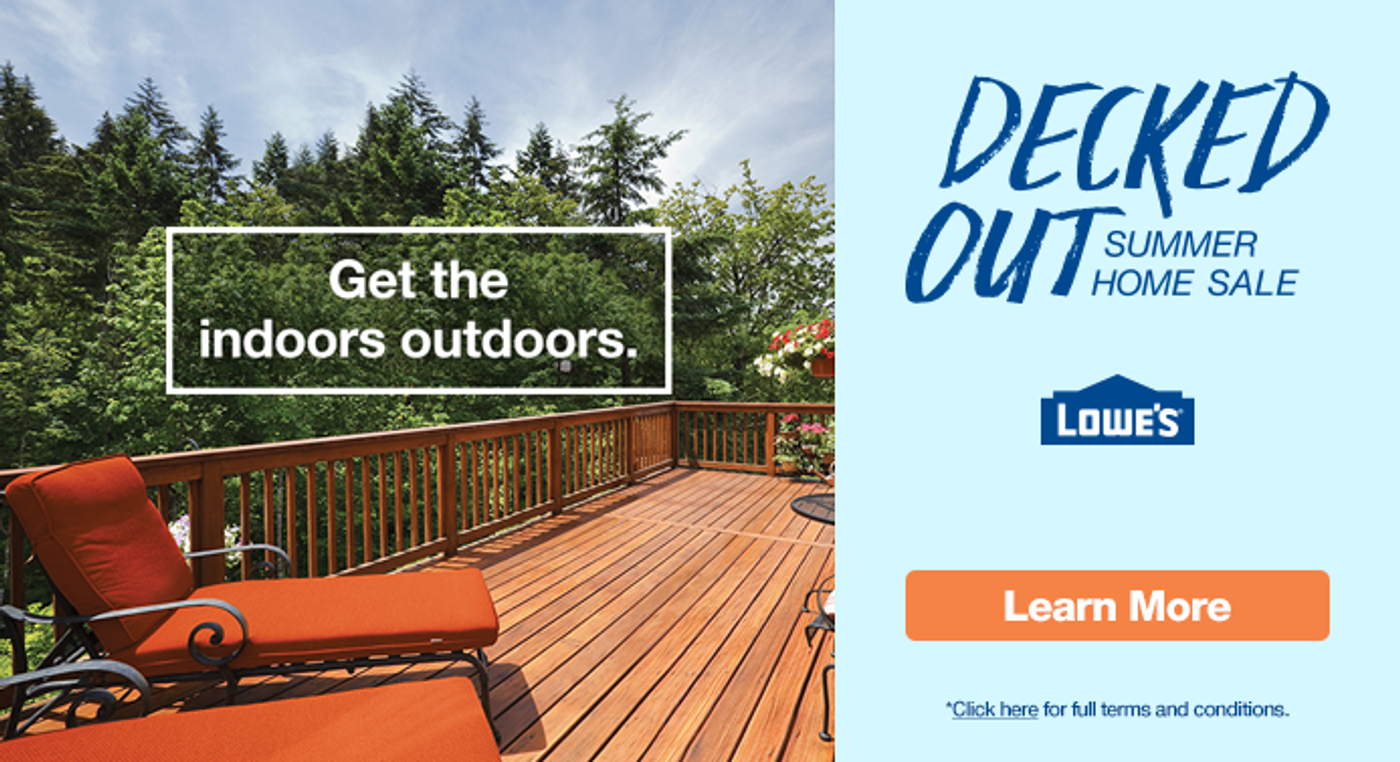 Get your Deck Decked out at Freedom Homes
