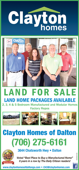 Your Clayton Homes of Dalton Team