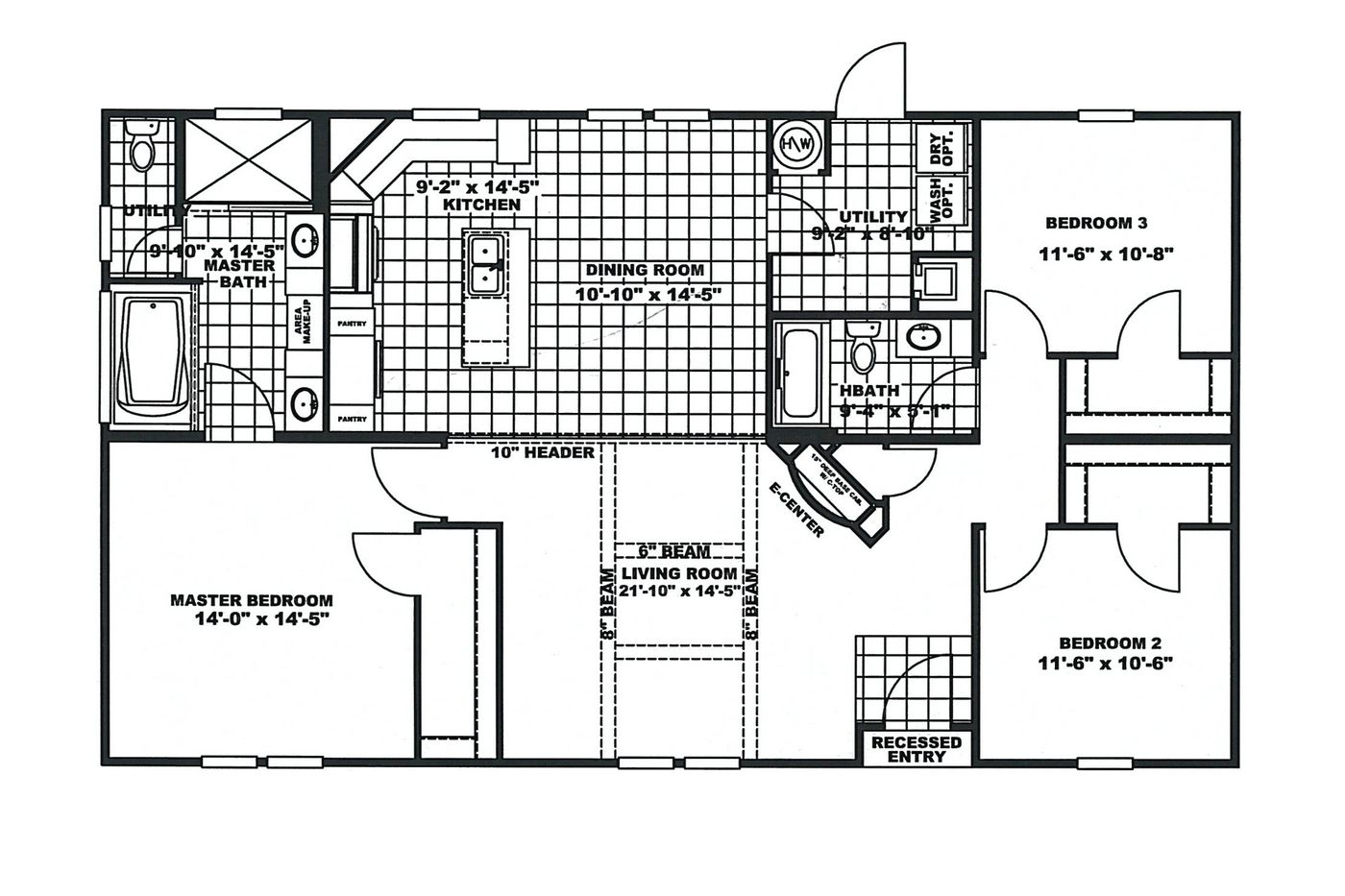 Photo Fort Stewart Housing Floor Plans Images