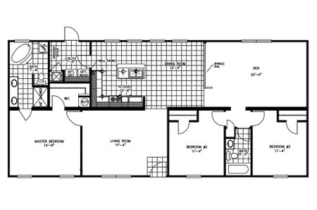 14×70 Mobile Home Floor Plan 16 x 80 mobile home design ideas 80s single wide mobile home